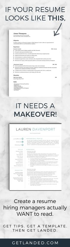 Does your resume need a makeover?
