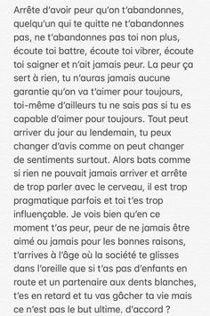 Sad Quotes, Words Quotes, Best Quotes, Love Quotes, Inspirational Quotes, Sad Texts, French Quotes, Life Words, Bad Mood