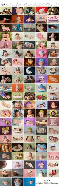 such cute baby photography ideas!