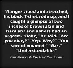 janet Evanovich Top Secret twenty One quote