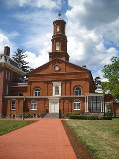 The Chapel, listed on the National Register of Historic Places, is a special place for families of America's fallen firefighters. Memorial Park, Firefighters, David, Memories, Mansions, History, House Styles, Killed In Action, Firemen