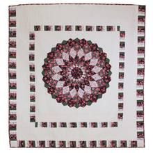Dahlia Patchwork King Amish Quilt 103x107
