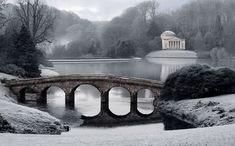 Stourhead Gardens Wiltshire in South West England Places Ive Been, Places To Visit, In Your Honor, Place Values, Winter Wonder, London Calling, Winter Scenes, Photos, Pictures