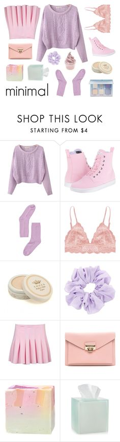 """minimal"" by bumblingbees ❤ liked on Polyvore featuring Chicnova Fashion, Dr. Martens, Monki, Humble Chic, Tocca and Martha Stewart"