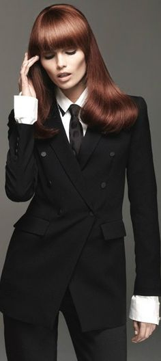 Love Love Love wearing Suits,  looking strong yet feminine at the same time, Love it!!!