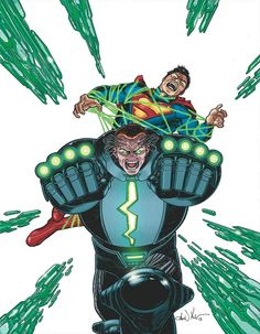 ACTION COMICS #23.4: METALLO Written by SHOLLY FISCH Art by WILL CONRAD 3-D motion cover by AARON KUDER On sale SEPTEMBER 25 • 32 pg, FC, $3.99 US RATED T Before he became Metal-Zero, John Corben had two great loves: his country and Lois Lane. Awakening from a coma after the events of ACTION COMICS #8, Corben finds himself betrayed by both—and now his Kryptonite heart beats only for revenge! And when he joins up with the Secret Society, there's no limit to the destruction he can cause!