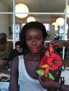 who said chocolate girls can't wear red lipstick ? :) ...wear it & wear it well !