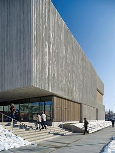 Clyfford Still Museum - Allied Works Architecture  Board-Formed Concrete Walls Favorite Museum of all time!