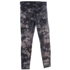Pre-owned Skinny jeans tie-dyed look (€109) ❤ liked on Polyvore featuring jeans, black, j brand, j brand skinny jeans, j brand jeans, tie dye jeans and tye dye jeans