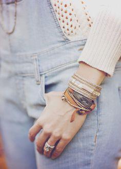 Noonday Bracelets.  Love an arm party!