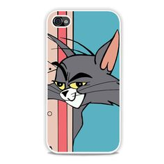 Funny Tom Face iPhone 4, 4s Case