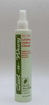 """Next Image Curl-n-Wavy Curl Defining Conditioner & Detangler Oilive Oil, Shea Butter, Jojoba Oil & Vitamin E 8 oz by Curl-n-Wavy. $11.00. Helps to define the """"S"""" pattern of curls. Excellent for all curly and wavy hair types. Wigs, weaves, Synthetic or natural hair. Eliminates Frizzies. Non-Greasy, Oil Free, Non-Sticky, Soft, Dry, Coarse Hair. Revitalize and soften your hair with Next Image Curl-N-Wavy Curl Conditioner and detangler, enriched with olive oil, shea b..."""