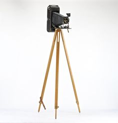 Wooden Tripod, Wood Camera Tripod, Vintage Camera Tripod, Kodak Camera Tripod, Vintage Camera Tripod by HuntandFound on Etsy