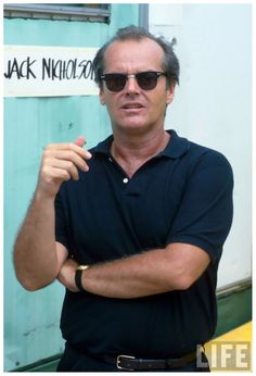 Jack Nicholson Sunglasses October 2017