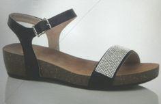 Diamonte low wedge sandal Basic Wardrobe Essentials, Wardrobe Basics, Low Wedge Sandals, Low Wedges, Shoes, Fashion, Moda, Zapatos, Shoes Outlet