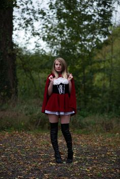 Little Red Riding Hood #Halloween #Halloweencostume https://raindropsofsapphire.com/2017/10/31/little-red-riding-hood/