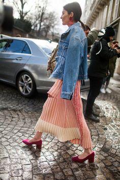 Street style at Paris Fashion Week fall 2017