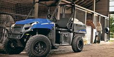 Now you can purchase Polaris Ranger EV in India. Ranger EV is a great product which is coming with features like: Transmission/Final Drive-Direct Drive With Low-Noise Gears and Drive System-On-Demand True AWD/2WD/ VersaTrac Turf Mode. Also, it has Lock  Ride Cargo System.