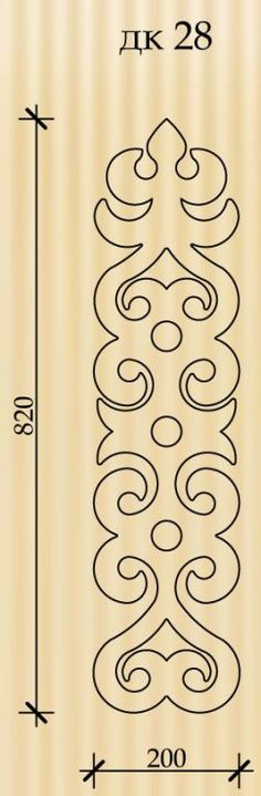 Ornate template 28