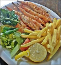 one of our popular seafood dishes