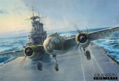 B25 art  | DHM2603. Into the Teeth of the Wind by Robert Taylor. Bound for Tokyo ...