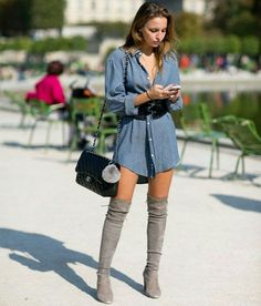 look chemise e over the knee