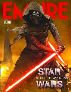 #Empire magazine's #StarWars #TheForceAwakens collector's covers.