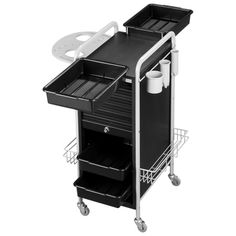 Sally Beauty Supply 49 00 Luxe Mobile Butler Option Package Salon Cart Trolley Barber