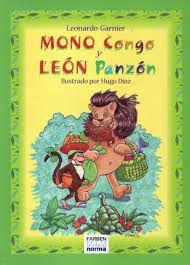 Mono Congo y León Panzón Leonardo Garnier