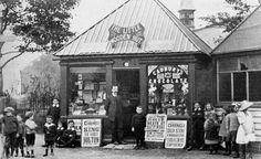 The Little Wooden Hut, Four Lane Ends, 1912.
