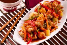 Il maiale in agrodolce è una pietanza cinese molto apprezzata e diffusa in tutto il mondo.