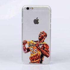 Transparent NBA Phone Case for iPhones