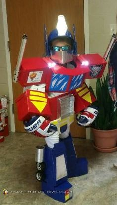 Awesome Optimus Prime Costume