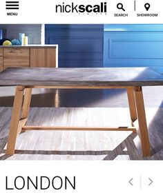 Nick Scali London Table