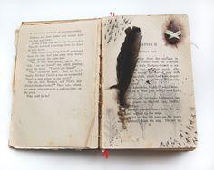 Recycled Book Keepsake