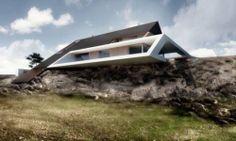 Contemporary Architecture Edge House 3