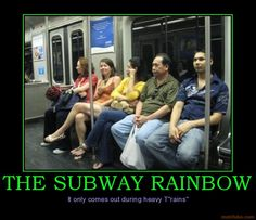 Subway Rainbow :)