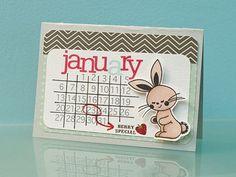 Pinterest Challenge with Marla Kress - Jan. 21 - Card by Marla Kress