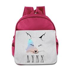 SAXON Kids Playful Pink Toy 150g Wolf Lynx Shoulder Bag -- Click image to review more details.