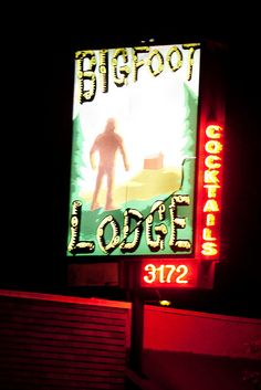 Bigfoot Lodge -  Los Feliz - my roommate went there a lot but I never got a chance to go.