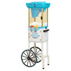 Shop for Nostalgia Electrics Snow Cone Cart. Get free shipping at Overstock.com - Your Online Kitchen