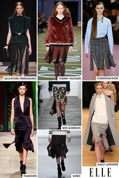 Carwash pleats made their case early in New York for being the skirt shape of the season and then by the time Paris rolled around and Raf Simons showed them on the Christian Dior runway, their fate was certain. The new way to show off those gams next season will be through these pleats.   - ELLE.com