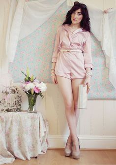 Missguided Silk Playsuit