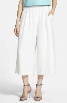Chelsea28 Pleated Culottes | Nordstrom