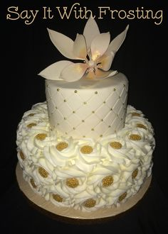 Pensacola Wedding Cakes Custom 50th Anniversary Cake For A Party At Beach
