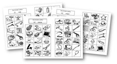 """Atelier """"Écoute"""" - Discrimination des sons. French Education, School Tool, Speech Therapy Activities, Phonemic Awareness, Learn To Read, Classroom Management, Kids Learning, Alphabet, Sons"""