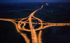"England's M25 - ""Many phenomena — wars, plagues, sudden audits — have been advanced as evidence for the hidden hand of Satan in the affairs of Man, but whenever students of demonology get together the M25 London orbital motorway is generally agreed to be among the top contenders for Exhibit A."""