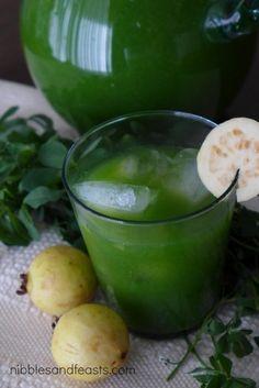 Guava and Alfalfa Agua Fresca - Nibbles and Feasts