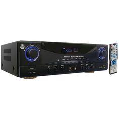 Stereo Receiver Amplifier 5.1-channel, 350-watt Amp W 3d Pass Thru