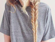 fishtail braid//